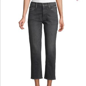MOTHER Tomcat Crop Straight Jeans